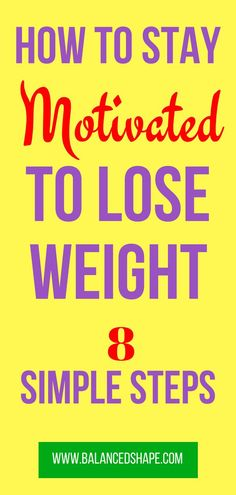 How to stay motivated to lose weight best weight loss plan, fast weight loss tips Best Weight Loss Plan, Diet Plans To Lose Weight, Losing Weight Tips, Weight Loss For Women, Fast Weight Loss, Weight Loss Program, Healthy Weight Loss, Weight Loss Tips, How To Lose Weight Fast