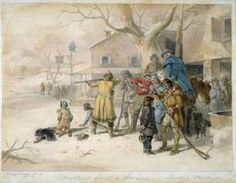 Christmas Sports in America.: Shooting Turkeys, ca. 1865 | In the Swan's Shadow