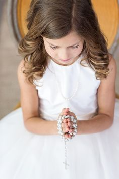 Communion portraits to capture a sweet, timeless childhood experience