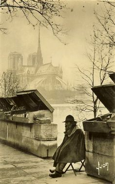 Vendor, Paris in 1920 by Pierre-Yves Petit @Christina Childress Childress & Tierney McGuire