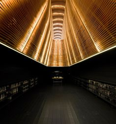 Stunning Matadero Film library by Ch+Qs architects.