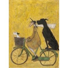 A Lift Home for Big John - sign up to our newsletter to get 10% off this & all of our art prints