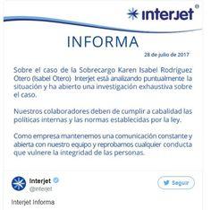 Interjet investiga acusación de intento de violación de sobrecargo en Chihuahua | El Puntero