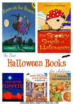 The Best Halloween Books for Children (1-6yr) by FSPDT