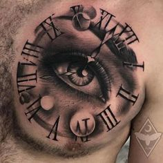 Image may contain: one or more people Belly Tattoos, Top Tattoos, Badass Tattoos, Mini Tattoos, Body Art Tattoos, Tattoos For Guys, Clock Tattoo Design, Lion Tattoo Design, Tattoo Stencils