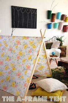 DIY παιδικες σκηνες για παιδικο δωματιο
