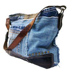 Bolsa de mezclilla cada día bolso bolso del Hobo bolso