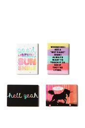 quirky magnets set 4, PAINTBOX