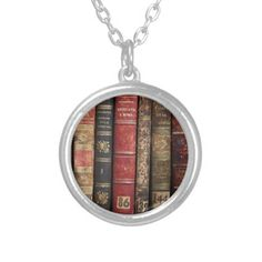 Old Book Necklaces