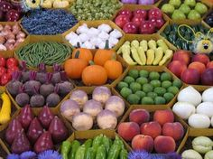Harvest is time to eat or drink your vegetables.