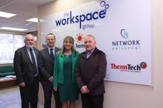 Martina Anderson and Francie Molloy visited our offices in Draperstown.