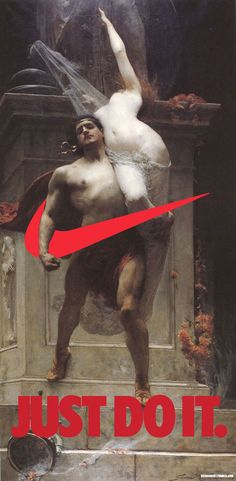 Nike's Swoosh Invades The Elevated Realm Of 18th & 19th Century Paintings