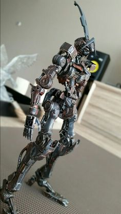 My Barbatos custom painted inner frame, currently  working on the armor.    More of my work: http://www.customecha.com/abandoned-gundam-project-by-craze/
