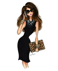 My alter ego: LBD and leopard