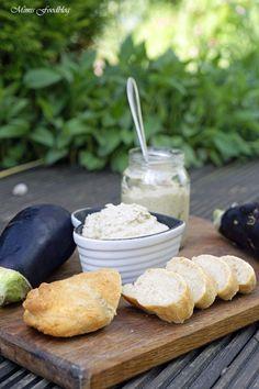 Auberginen-Dip nach Sandra Franitza ~ Koch dich glücklich durchs ganze Jahr - Mimis Foodblog Sandwiches, Pasta, Aioli, Snacks, Bon Appetit, Finger Foods, Fondue, Feel Good, Tapas