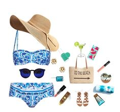 """""""Jamaica4"""" by queen-tianna ❤ liked on Polyvore featuring Dolce&Gabbana, Style & Co., Essie, NARS Cosmetics, Billabong, Urban Decay, Smashbox, Kate Spade, Sun Bum and Alterna"""