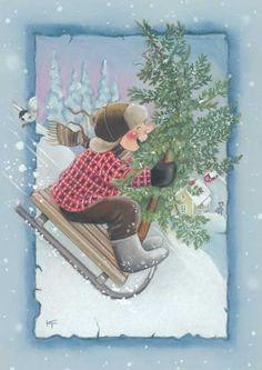 Kaarina Toivanen - Юлия К - Picasa Web Albums Christmas Tale, Christmas Nativity, Christmas Clipart, Christmas Printables, Christmas Greetings, Vintage Christmas, Christmas Crafts, Creation Photo, Funny Drawings