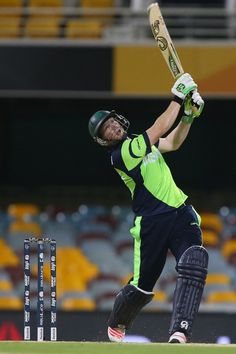 Kevin O' Brien's 50 off 25 changed the equation of the match.  Ireland v UAE, World Cup 2015, Group B, Brisbane, February 25, 2015  Getty Images