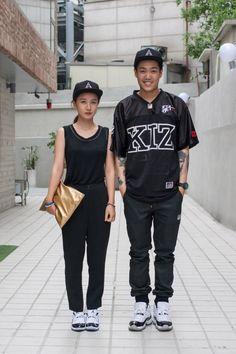 http://chicerman.com  billy-george:  Street stylin  Spotted at Seoul Fashion Week  Photo by Carl Jones Sol-Sol Street  #streetstyleformen
