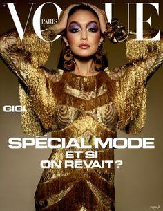 Vogue Magazine Covers, Fashion Magazine Cover, Fashion Cover, Vogue Covers, Gigi Hadid, Gigi Et Bella Hadid, David Bailey, Versace Fashion, Vogue Fashion