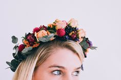 Crowns by Christy, fall flower crowns