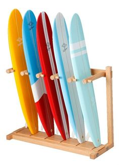 Board Rack Surf Burner - VERTICAL via surfburner. Click on the image to see more!