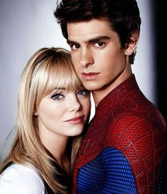Just can't wait for the new Spider-Man movie!! It's gonna be 'Amazing'....get it. Andrew is gonna rock as Spidey & Emma Stone just plain rocks!!