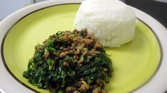 How to make plain Sadza | sadza is a staple food in Zimbabwe and eaten pretty much each day with meat (sadza nenyama) and salad (leafy veg). Also known as pap in South Africa and eaten with relish.