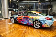 The Road is Your Easel – the BMW Art Car collection