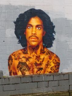 Unknown artist – Prince Street Art tribute