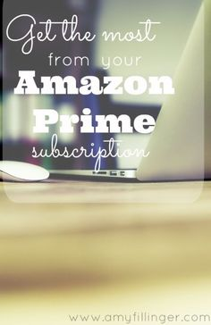 How to use Amazon Prime | How to make the most of your Amazon Prime subscription. I've had Amazon Prime for years, and I love it! Prime can be complicated, but there are so many freebies and money saving opportunities if you know how to use it. These are my tips for how to get the most out of your Amazon Prime subscription.