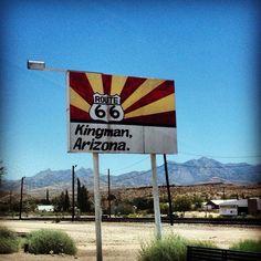 Route 66 in Kingman, AZ