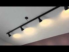 Como fazer luminária de trilho - Homens da Casa