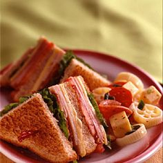 All-American Club Sandwich Recipe-For every pin they will donate 8 meals to Feeding America. PIN THIS!!! Help us fight hunger in partnership with Feeding America when you pin or re-pin Land OLakes recipes. Learn more at www.landolakes.com/FeedingAmerica.
