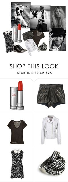 """Rouge In Love"" by skater-boys ❤ liked on Polyvore featuring Lancôme, Angelo, Balmain, Calypso St. Barth, Jofama, Miu Miu, Jigsaw, black, lee min ho and lancome"