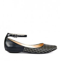 Sole Society - Dark Crema Black - Pointed toe flats - Kirby