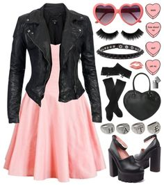 Pink can be punk.