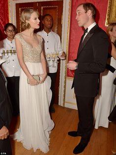 Taylor swift principe William #people #princeWilliam #websista