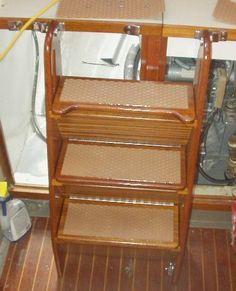 DIY: Convert a Built-in Stepladder into Storage Steps!