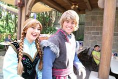 Kristoff is so handsome