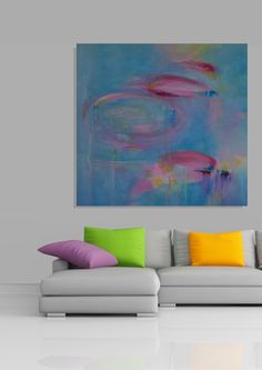 """""""Opal"""" abstract work inspired by the flickering colours seen in semi-precious stones. Eclectic Modern, Modern Art, Contemporary, Soft Colors, Colours, Opal, Abstract Art, Original Art, Stones"""