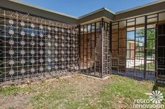 Stunning 1955 midcentury modern house in Fort Worth -- built by the Brandt family - Retro Renovation
