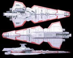 Smaller venator ship