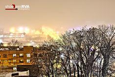 Foggy Rainy Night in the RVA