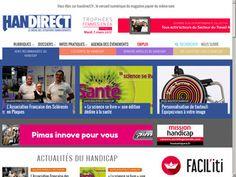 Ce site vous présente divers articles du magazine Handirect qui décortique le handicap en France et en Europe. #handicap