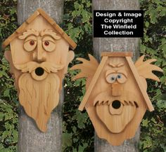 Cedar Men Birdhouse Patterns