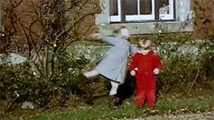 mini diana kissing her brother charles. very adorable! (gif)