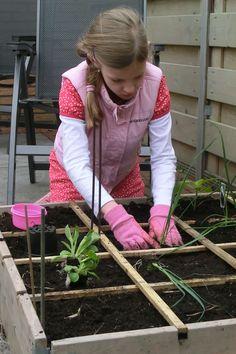 Begeleid of zelfstandige activiteit - Tuinieren met kids