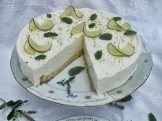 TutiReceptek, képek, cikkek oldala!: Zöldcitromos torta - liszt és cukormentes Diabetic Recipes, Diet Recipes, Stevia, Paleo, Cukor, Food, Food Cakes, Yogurt, Eten