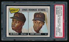 1965 Topps #16 Rookie Stars Joe Morgan RC (PSA 8) at PristineAuction.com $1